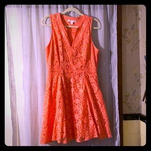 Gently worn coral LC Dress